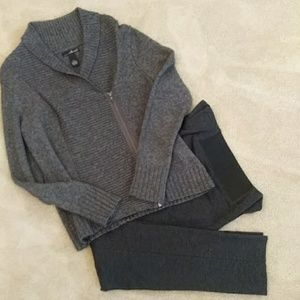 Willi Smith Sweater and LG Gabrielle stretch pant
